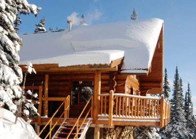 Outdoor Cabin View